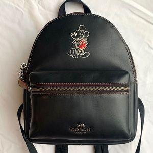 Disney x Coach Mickey Mini Charlie Backpack